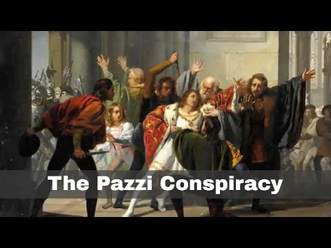 26th April 1478: The Pazzi family launch their failed plot against the Medici family