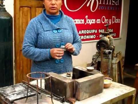 Como se trabaja la plata filigrana en huallhuas viyoutube - Como se pule la plata ...
