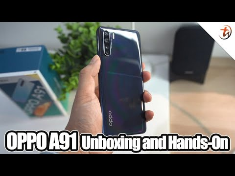 OPPO A91 Unboxing & Hands- On!