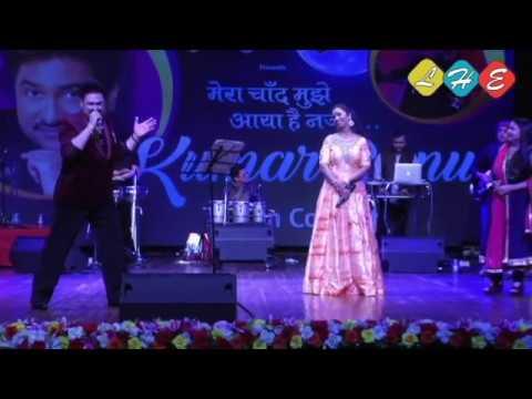 Mera chaand mujhe aaya hai nazar by Kumar sanu, in live concert, Mumbai.