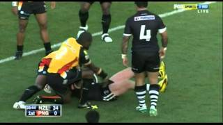 2010 Rugby League Four Nations - New Zealand v Papua New Guinea