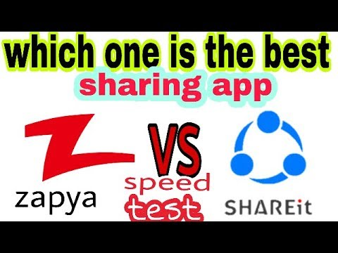 Which One Is The Best Sharing App Share it vs zapya 2018