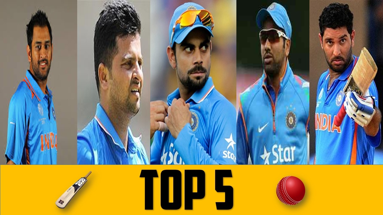 Top 5 Indian Cricketers 2017 Most Popular India National Cricket Team Players At Present