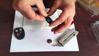 How to Install: Remotes Unlimited GM 3-Button Remote Replacement Case (CASE-GM31)