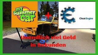My Summer Car + CheatEngine unendlich viel Geld [DEUTSCH]