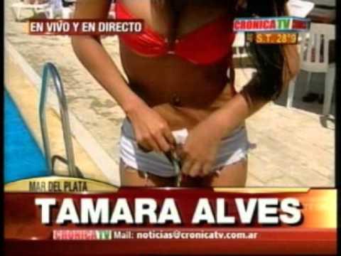 Tamara Alves y Gaby Mandato En Bikini