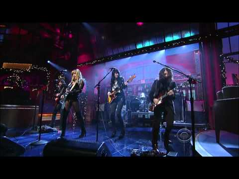 Grace Potter and the Nocturnals on Letterman