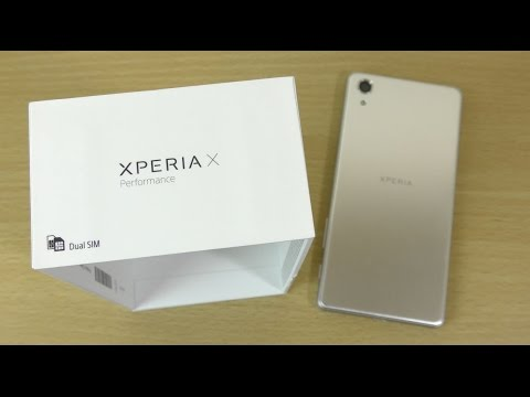 Sony Xperia X Performance Silver - Unboxing & First Look! (4K)