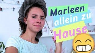 Marleen allein zu Hause / Mama wird nass gespritzt / VLOG / kinder_sein / frau_sein