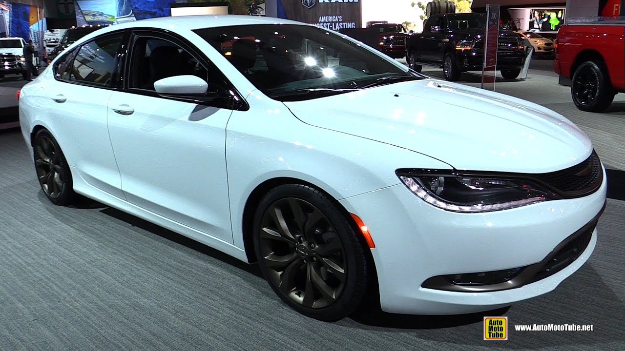 2017 Chrysler 200s Alloy Edition Exterior And Interior Walkaround 2016 La Auto Show