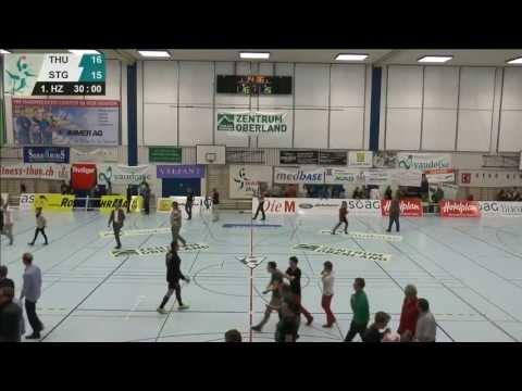 Wacker Thun. Play-off-Halbfinal 1. Mai 2013. Wacker - St. Otmar St. Gallen. Wacker im Final