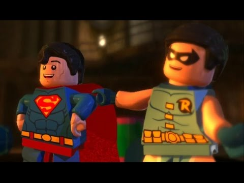LEGO Batman 2: DC Super Heroes Walkthrough - Chapter 5 - Race to Ace