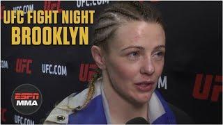 Joanne Calderwood looking for big fight after beating Ariane Lipski | ESPN MMA