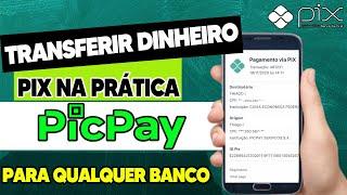 Transferência PIX - Como Transferir Dinheiro do PICPAY para Qualquer Banco (via PIX)? screenshot 3