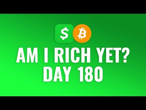 Buying $1 Bitcoin Every Day With Cash App - DAY 180