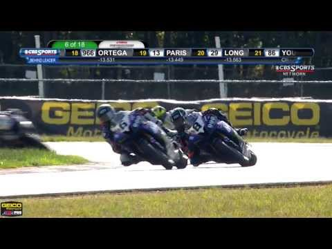 AMA Pro GoPro Daytona SportBike FULL Race 2 (HD) - New Jerse