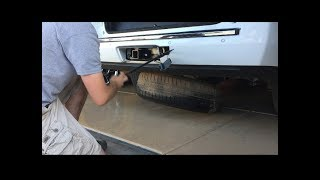 Lower spare tire & change flat tire. How to remove the spare GMC Chevy Yukon, Tahoe, Suburban