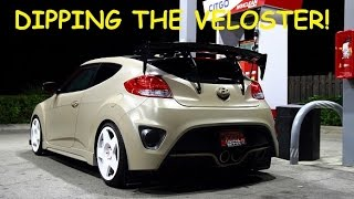 DIPPING MY VELOSTER