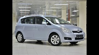 Toyota Corolla Verso 1.8 AT (129 л.с.)