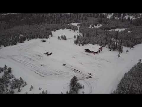 FWAC Flyover Salt Creek Summit - Wallowa Mountains, Joseph, Oregon 12-21-2017