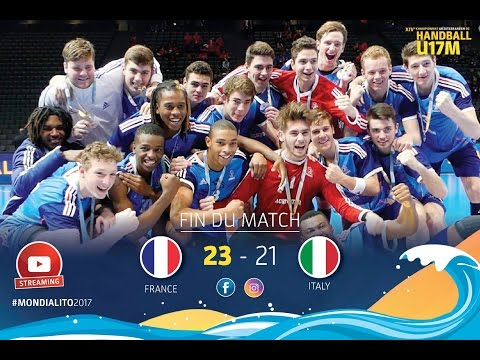 M41 FINAL 3-4 I FRANCE-ITALIA I Mondialito2017 21/01/17
