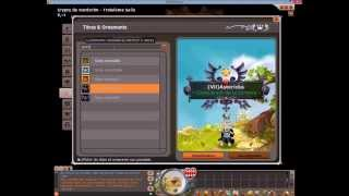 [Dofus] Test Beta 2.29  - Ornement / Donjon / Métier / Idole / Incarnam