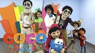 GIGGLES KIDS - CONOCEN A MIGUEL DE COCO - SHOW MUSICAL DE COCO thumbnail