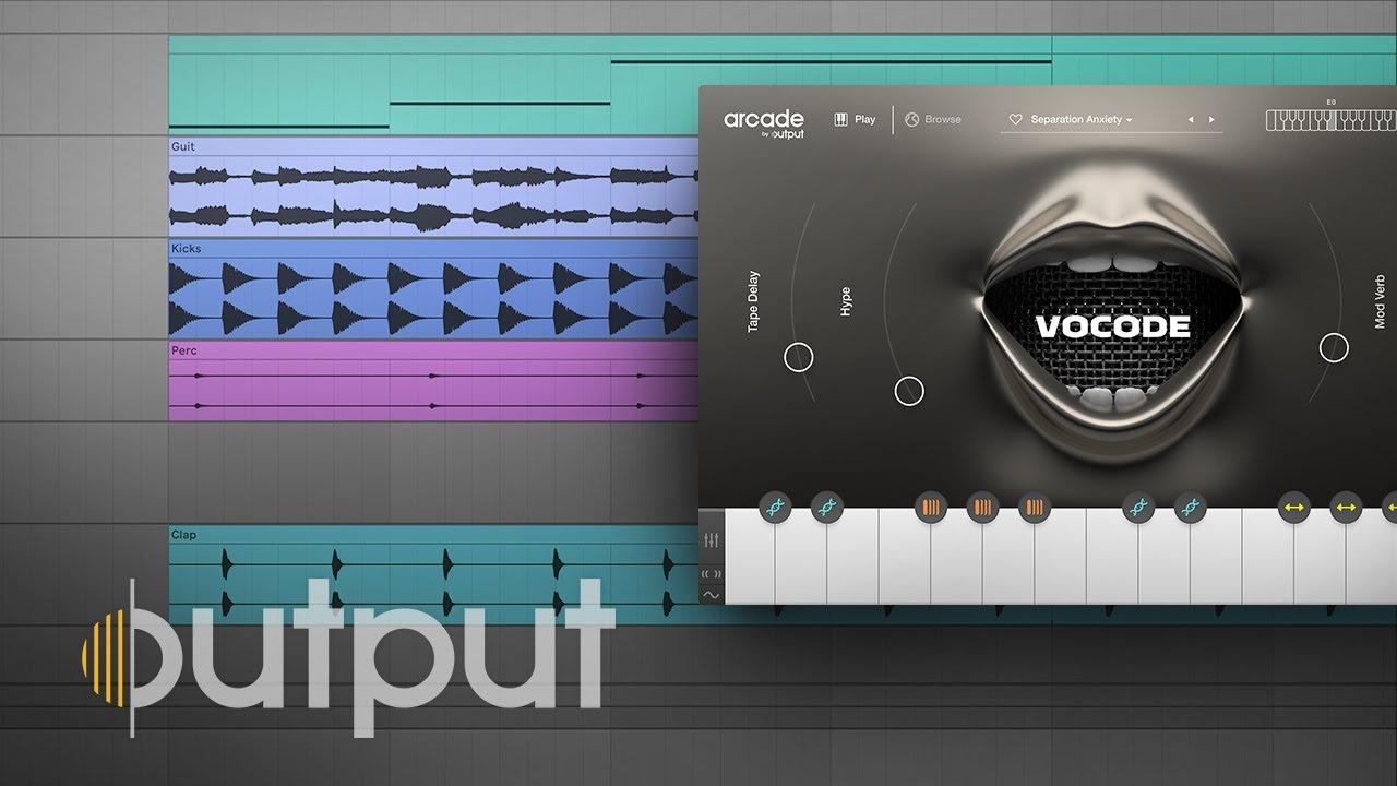 ARCADE by Output - Explore Vocode