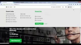 How to link a Godaddy Domain name with Hostgator Hosting