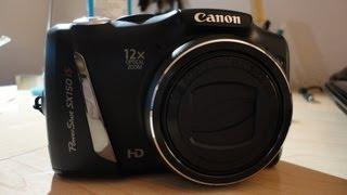 Unboxing: Canon PowerShot SX150 IS