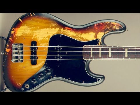 Soul Groove Blues | Bass Backing Jam Track (A)