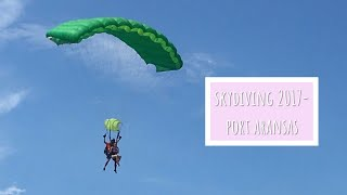 Skydiving 2017- Port Aransas