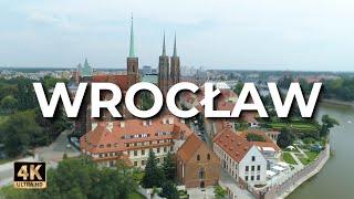 Wrocław z drona  Wrocław z lotu ptaka  LECE W MIASTO™ 4k