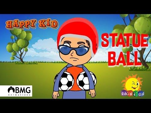 Happy Kid   Statue Ball   Episode 70   Kochu TV   Malayalam