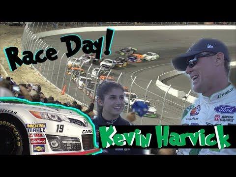 Hailie Deegan Races Kevin Harvick! First K&N West Race of 2018