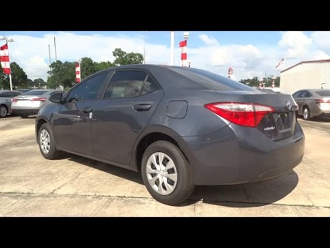 2015 Toyota Corolla Conroe The Woodlands Spring Tomball
