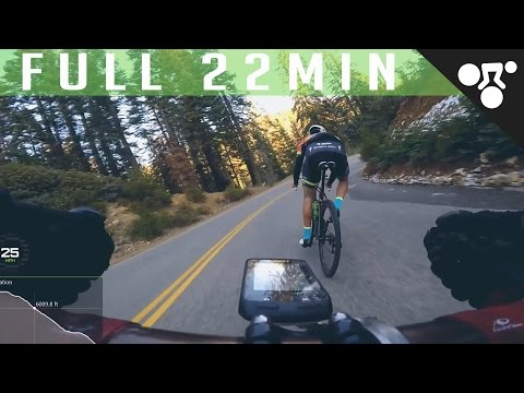 FULL 22 MIN ROAD BIKE DESCENT | EPIC FOREST DESCENT (3,600ft | 1,110m)