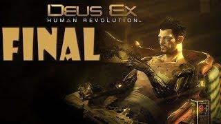 Deus Ex: Human Revolution - Walkthrough - Final Part 25 - Ending | Credits (PC) [HD]