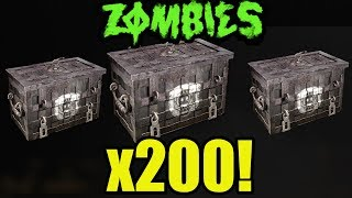 NEW 200 WW2 ZOMBIES SUPPLY DROP OPENING WW2 MULTIPLAYER ZOMBIES SUPPLY DROPS