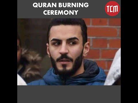 Anti-Muslim Ceremony in Norway