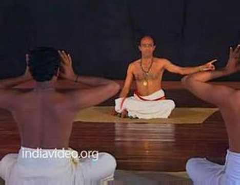 Training in Kathakali, Dance Drama of Kerala