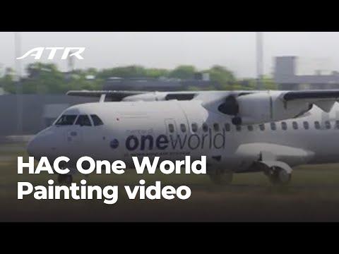 HAC One World - ATR 42-600 Painting Video