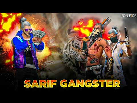 SARIF GANGSTER 🔫🔫 || THE STORY OF POWERFUL BOYS  😎 👦 || FREE FIRE 🔥 SHORT FILM 🎬 || PIROTES GAMING