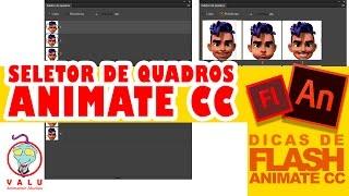 Animate CC 2017 - Seletor de Quadros