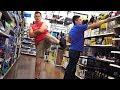 THE POOTER - Farting on People of Walmart in Las Vegas