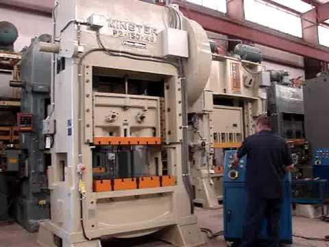 150 Ton Minster High Speed Press Model P2 150 Machine