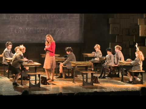Matilda The Musical - clips from the show