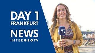 Day 1 in Frankfurt - INTERGEO TV NEWS 2018