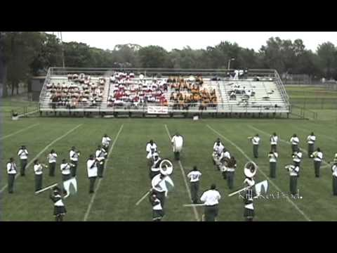 Cass Tech High School Marching Band - Field Show - 2004