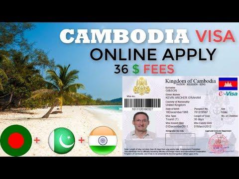 CAMBODIA E VISA ONLINE APPLY 2020